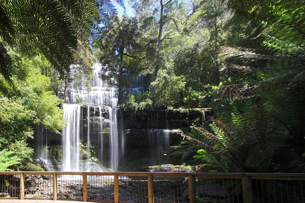 15 Best Tasmanian Landmarks - Russell Falls Mount Field National Park
