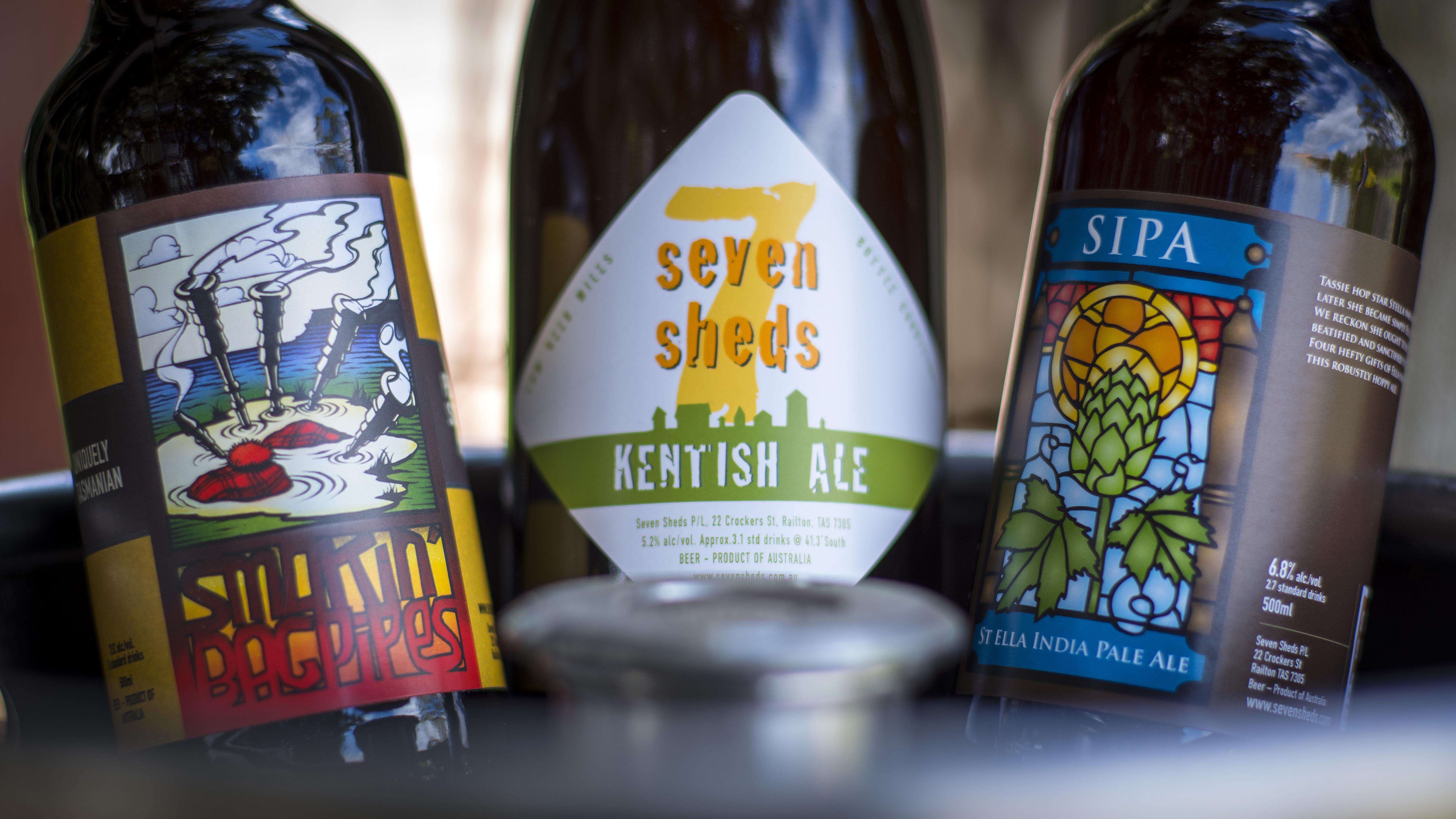 Seven Sheds - Tasmanian Craft Beer Scene