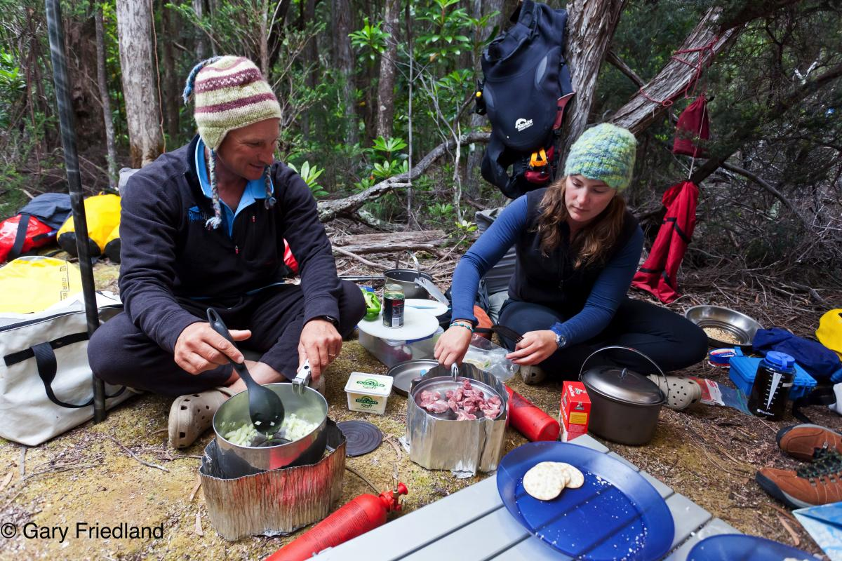 Roaring 40s Kayaking blog - 10 ways to minimise the impact of kayaking on the environment - fuel stoves