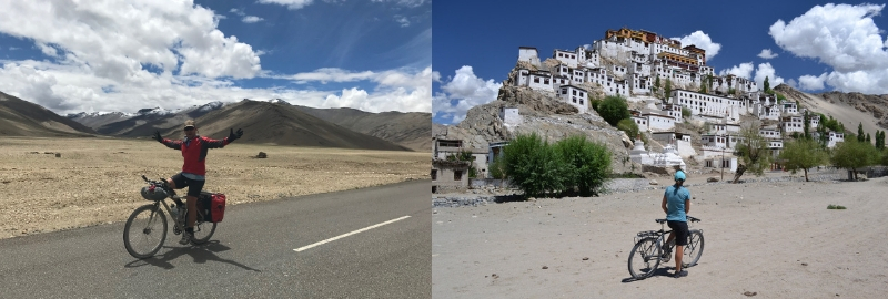 Roaring 40s Kayaking blog - Cycling from Manali to Lah in northern India - amazing scenery