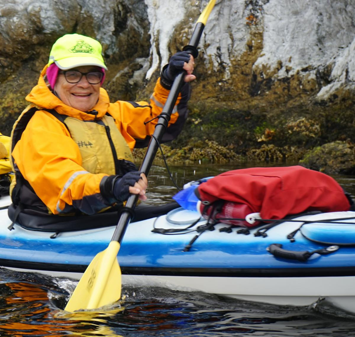 Roaring 40s Kayaking blog - Reg's top tips for kayaking as you get older