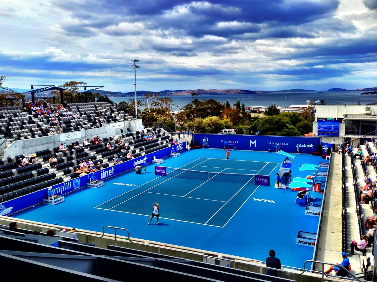 Roaring 40s Kayaking blog - Visit Tasmania in January - Hobart International Tennis Championships