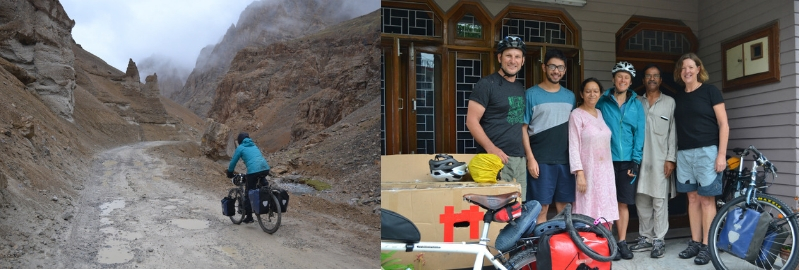 Roaring 40s Kayaking blog - Cycling from Manali to Lah in northern India - family hospitality