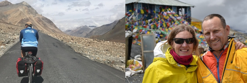 Roaring 40s Kayaking blog - Cycling from Manali to Lah in northern India