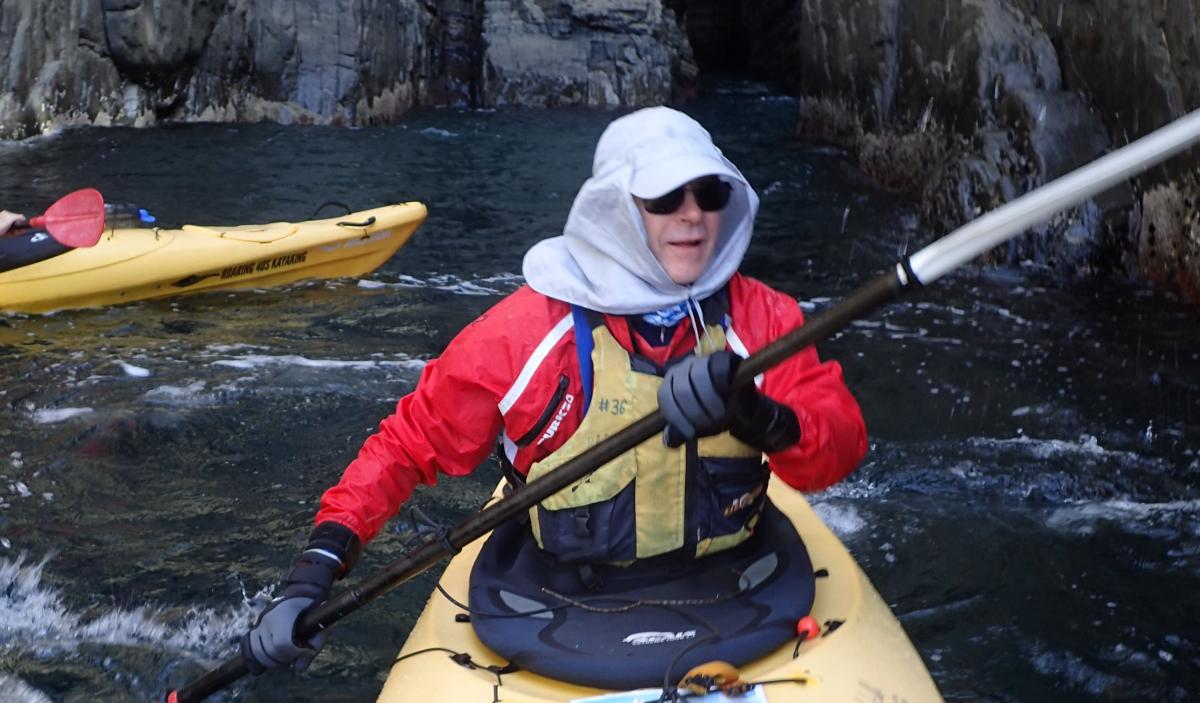 Kayaking as you get older