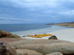 Kayaking Flinders Island