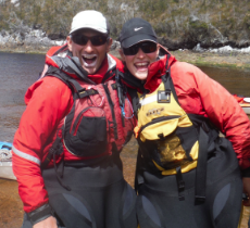 What to wear kayaking in Tasmania