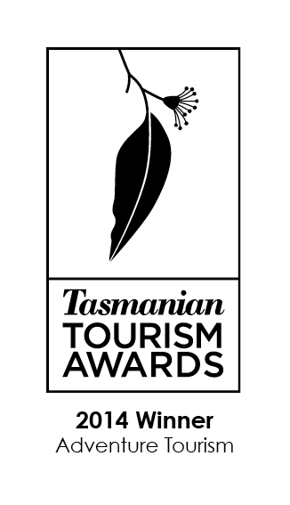 2014 Winner Tasmanian Tourism Awards - Adventure Tourism