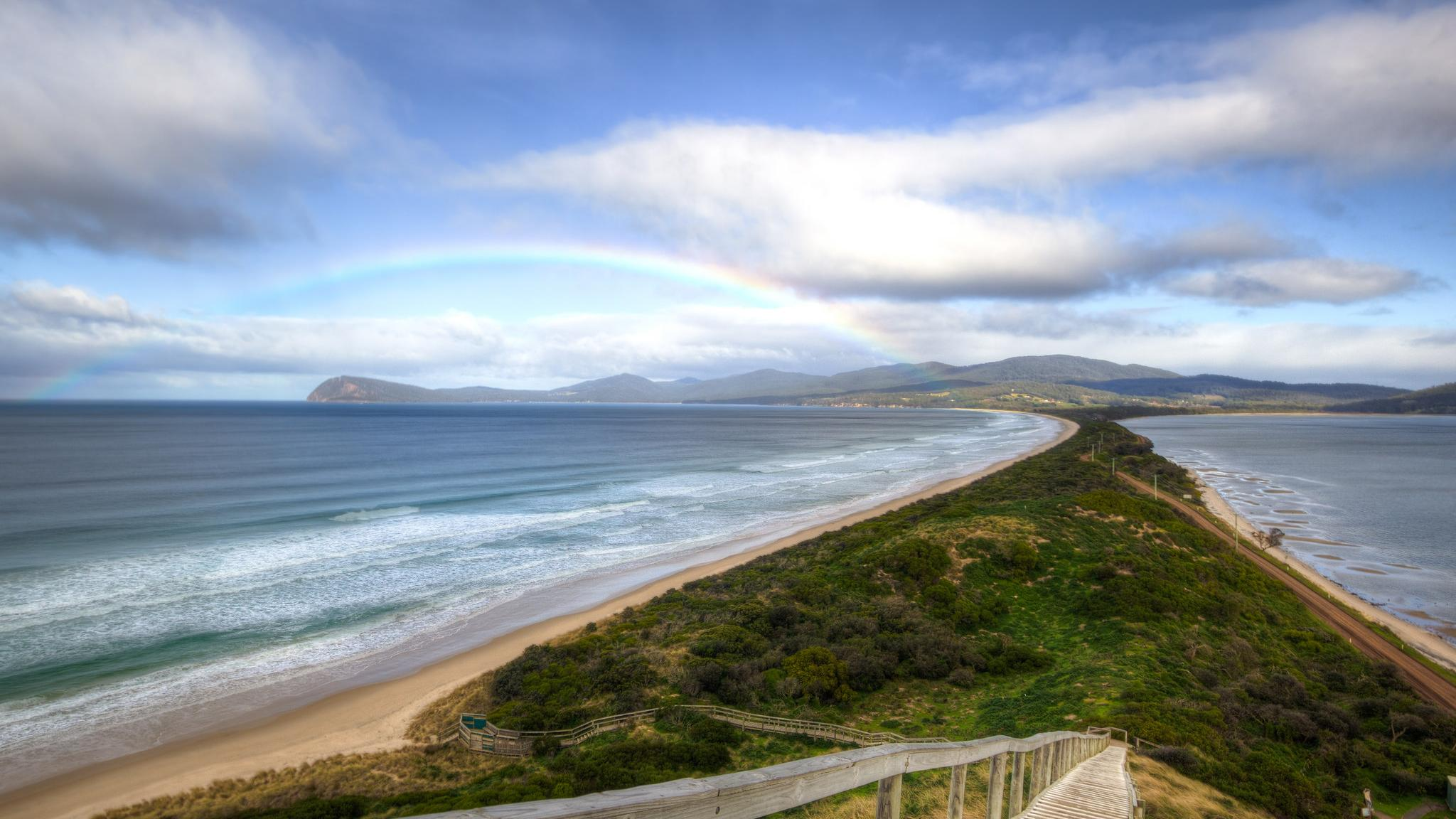 15 Best Tasmanian Landmarks - The Neck Bruny Island Tasmania