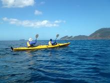 Kayaking Fortescue Bay on the Tasman Peninsula