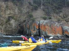 Roaring 40s Kayaking blog - What makes a great paddling day - Hobart sea kayaking